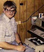 Jason at Computer