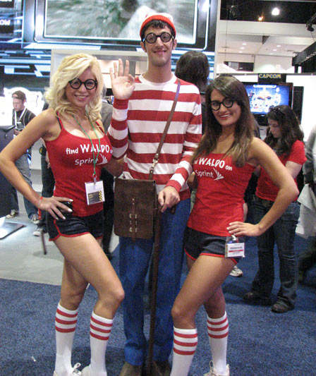 The Where's Waldo Girls
