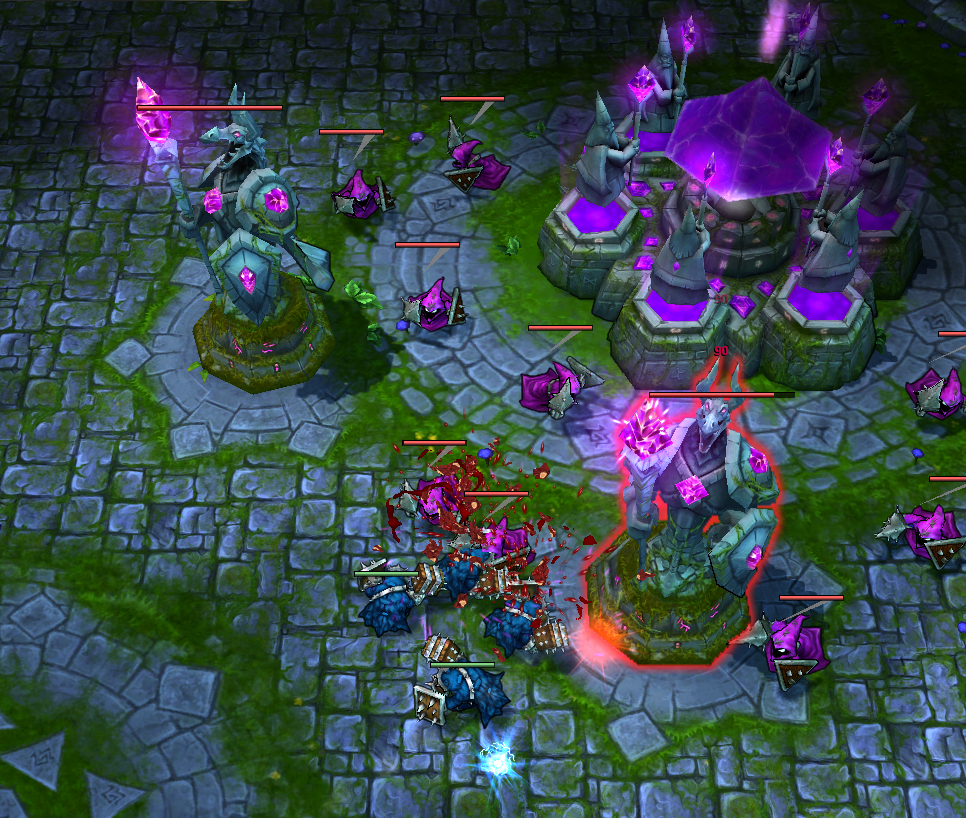 League of Legends Screenshot: Purple Nexus
