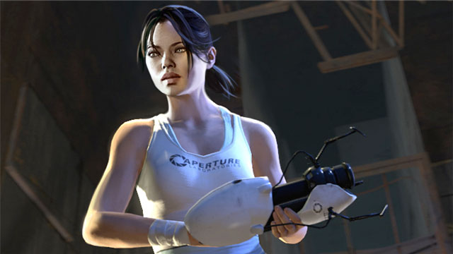 Portal 2 Screenshot - Chell