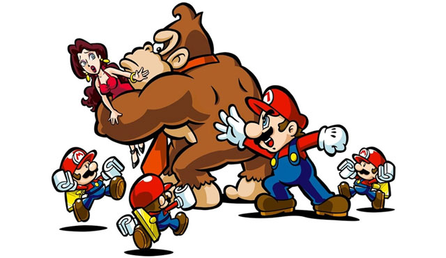 Mario vs. Donkey Kong: Mini-Land Mayhem - Screenshot