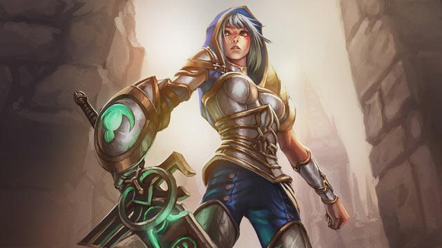 League of Legends Character Art: Riven