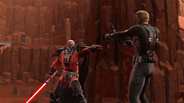 Star Wars: The Old Republic Screenshot: Sith Coffee Talk