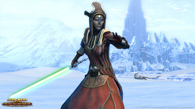 Star Wars: The Old Republic Screenshot - Force Pose