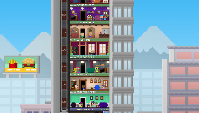 Tiny Tower Screenshot - iPad version