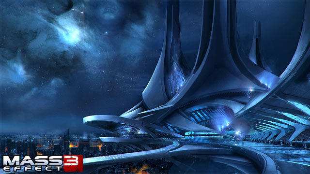 Mass Effect 3 Concept Art - Citadel