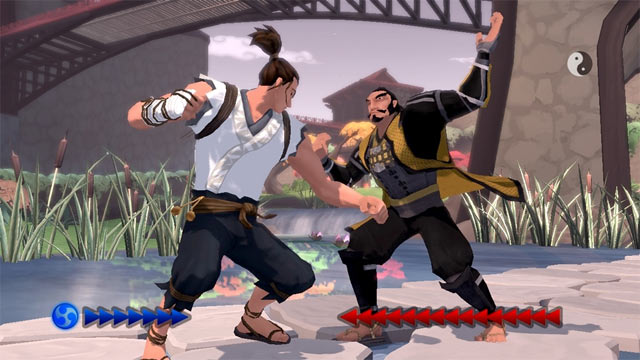 Karateka Remake Screenshot