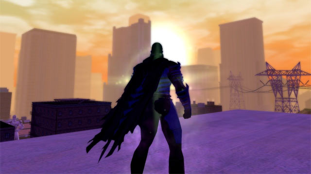 City of Heroes Sunset