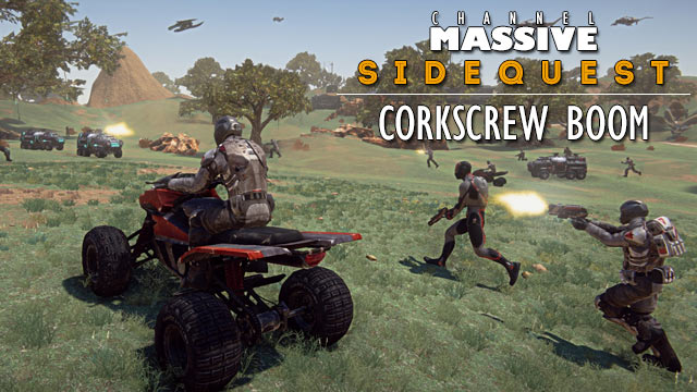 Channel Massive Episode 257: Sidequest - Corkscrew Boom